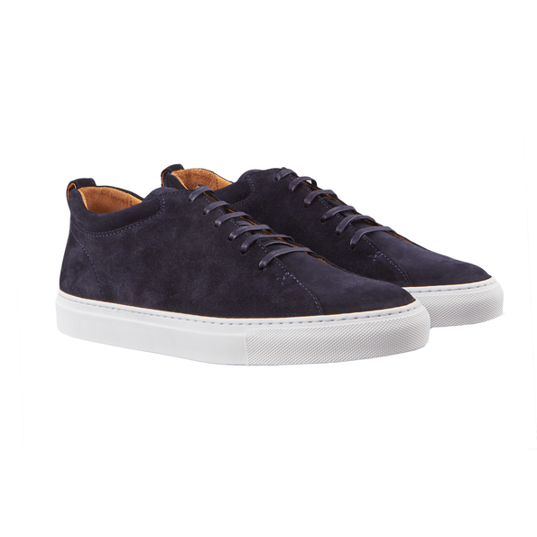 CQP Prussian Blue Tarmac Sneakers Front