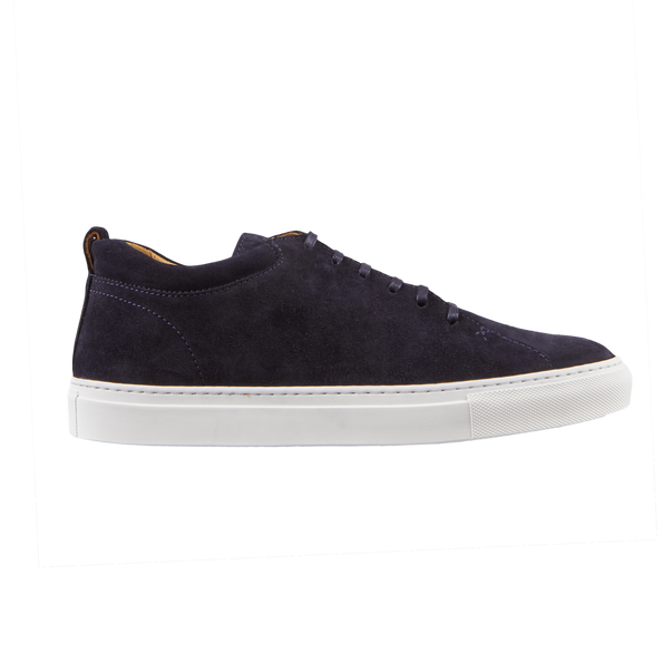 CQP Prussian Blue Tarmac Sneakers Side