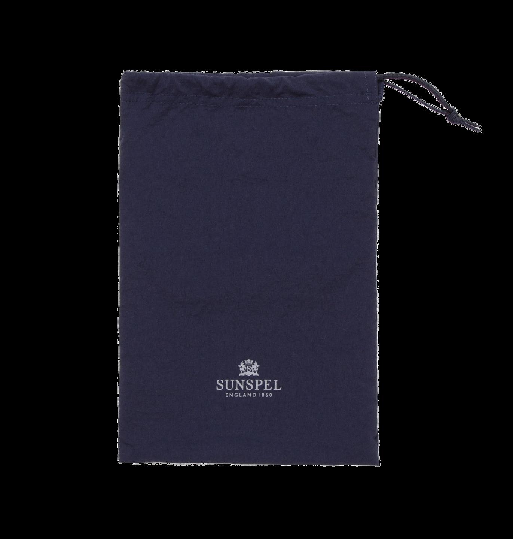 Sunspel Navy Swim Shorts Bag