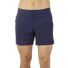 Sunspel Navy Swim Shorts Front
