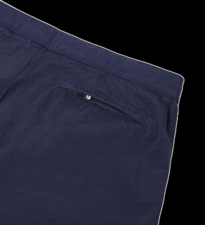 Sunspel Navy Swim Shorts Pocket