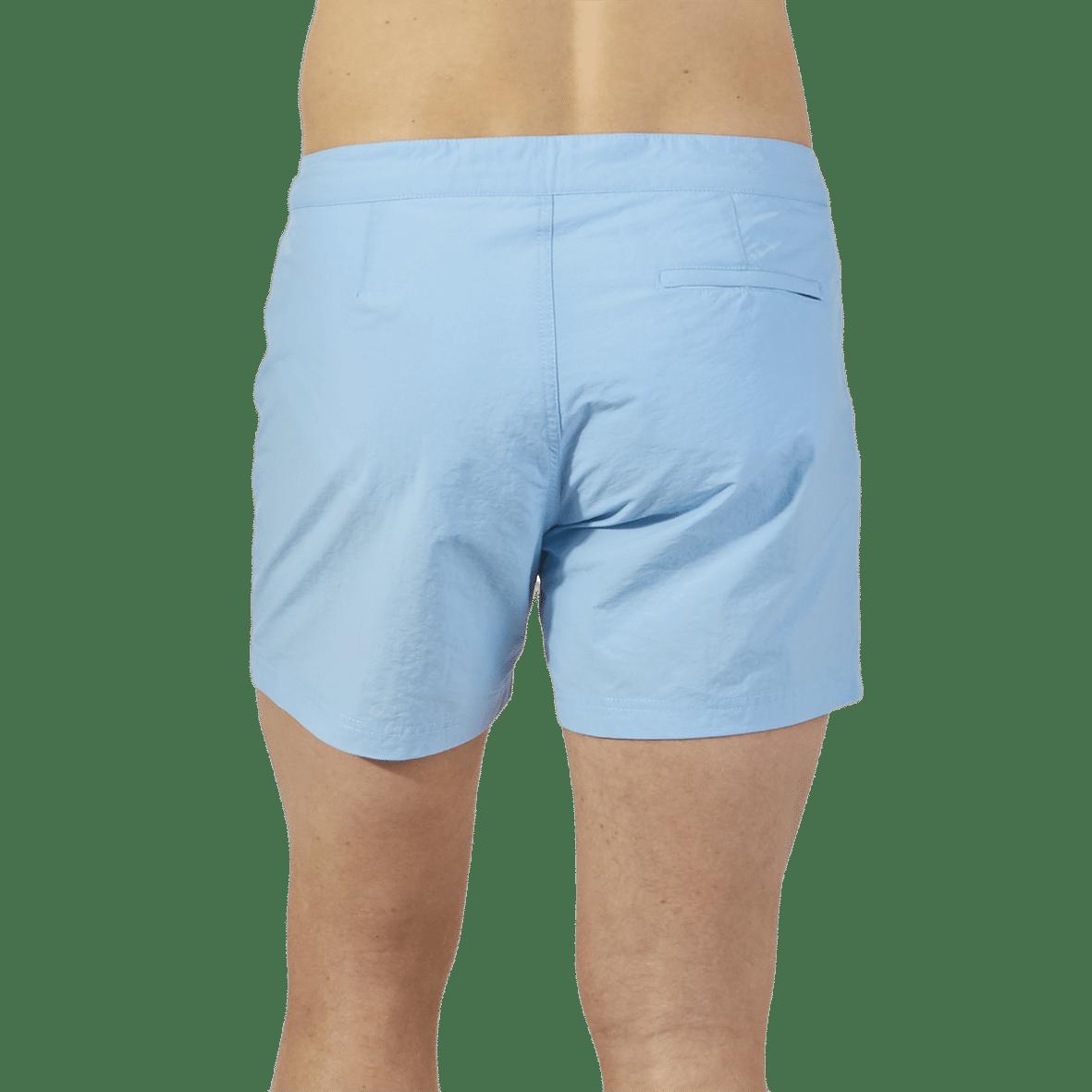 Sunspel Sky Blue Swim Short Back