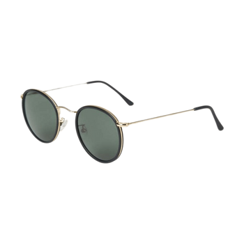 The Bespoke Dudes Eyewear Crossbreed Black With Bottle Green Lenses Feature