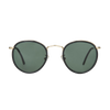 The Bespoke Dudes Eyewear Crossbreed Black With Bottle Green Lenses Front