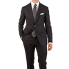 Tagliatore Grey Fine Merino Wool Suit Feature