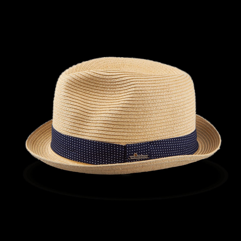 Wigéns Beige Classic Trilby Hat Feature