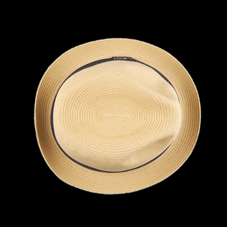 Wigéns Beige Classic Trilby Hat Top