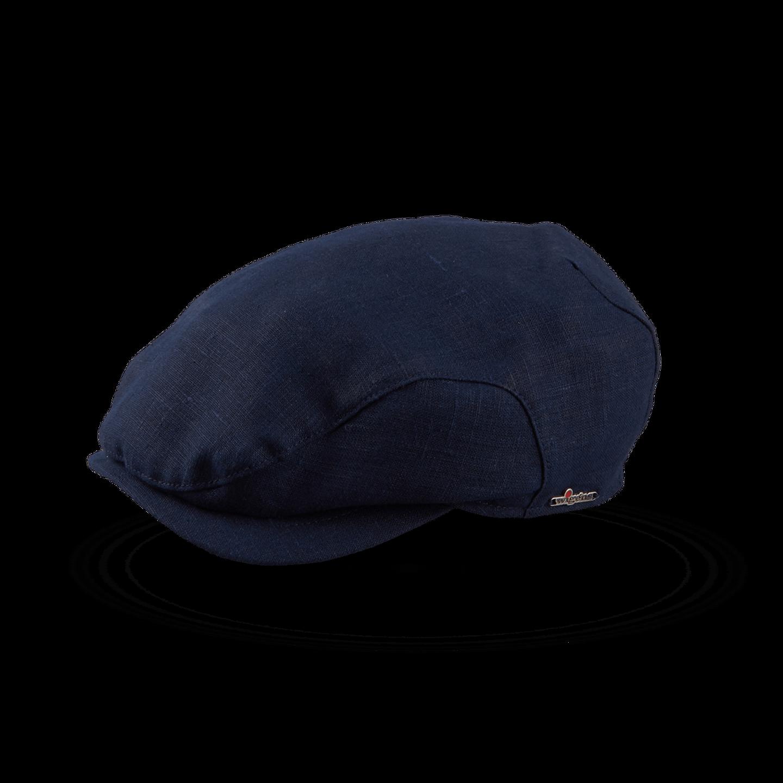 Wigéns Navy Ivy Classic Clip Linen Cap Feature