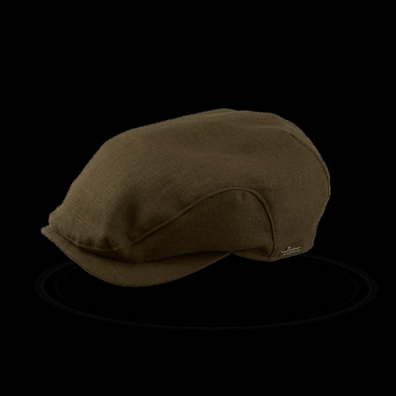 Wigéns Olive Green Ivy Classic Clip Linen Cap Feature