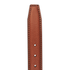 Andersons Light Brown Calf Leather Belt Edge