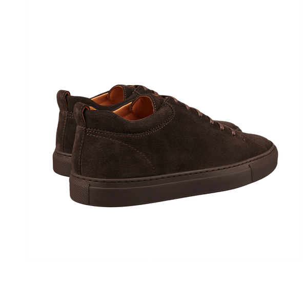 CQP Ebony Brown Tarmac Sneakers Back