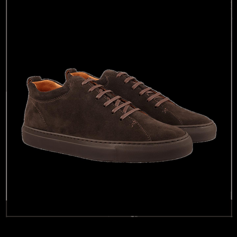 CQP Ebony Brown Tarmac Sneakers Front