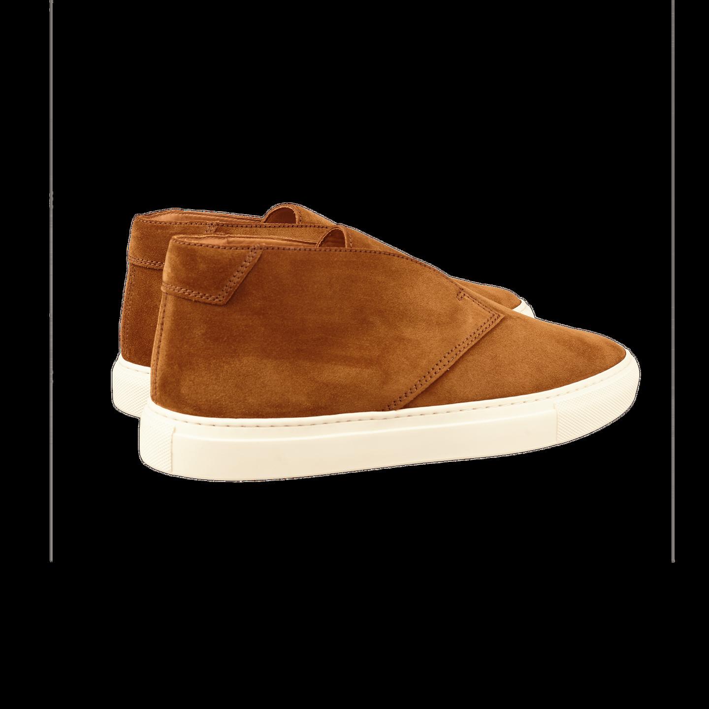 CQP Honey Brown Portico Sneakers Back