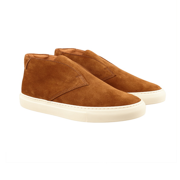 CQP Honey Brown Portico Sneakers Front