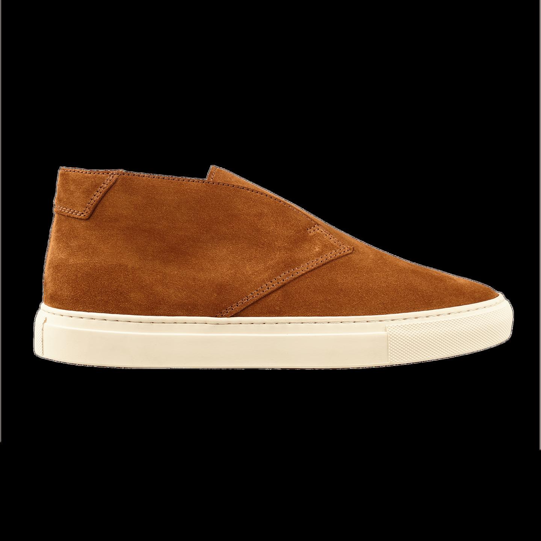 CQP Honey Brown Portico Sneakers Side