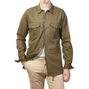 Green Cotton Overshirt