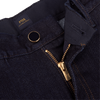 PT05 Dark Blue Grunge Relaxed Fit Cotton Stretch Jeans Zipper
