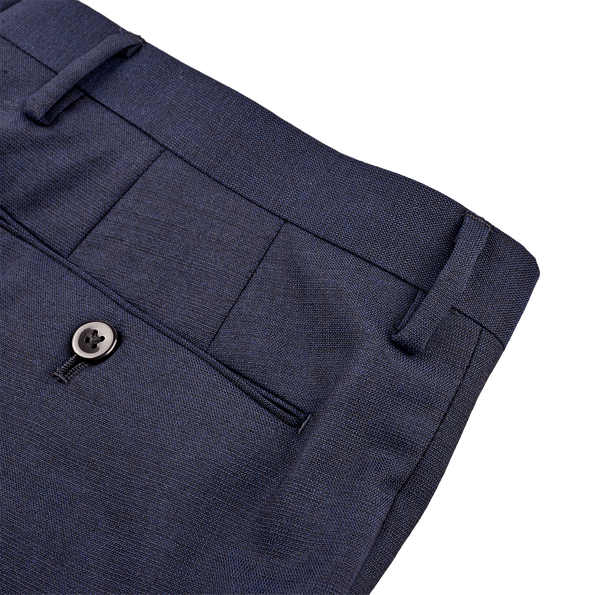 Ring Jacket Navy Fresco Suit Trousers Pocket
