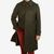 Schneiders Forest Green Loden Wool Coat Feature
