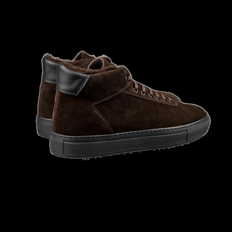 CQP Teddy Brown Montem Sneakers Back