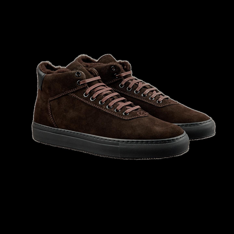 CQP Teddy Brown Montem Sneakers Front