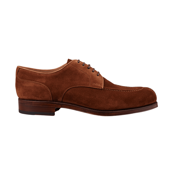 Carmina Brown Polo Suede Forest Norwegian Derbies Side