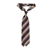 Drake's Navy Woven Reppe Silk Tie Feature