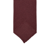 Drake's Wine Handrolled Large Knot Grenadine Silk Tie Tip