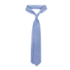 Dreaming of Monday Blue Herringbone 7-Fold Cashmere Tie Feature