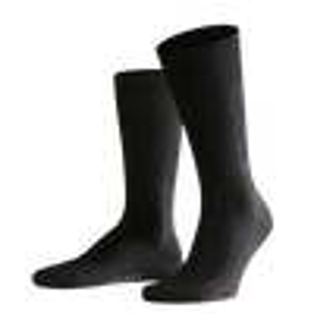 Falke Grey Lhasa Melange Short Socks