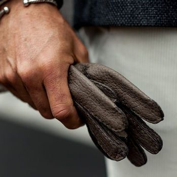 Handmade gloves by Hestra at Baltzar