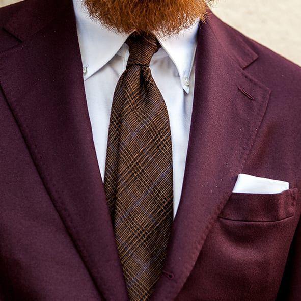 Handmade ties at Baltzar