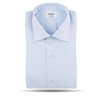 Mazzarelli Sky Blue Cutaway Regular Fit Shirt Feature