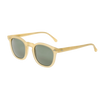 The Bespoke Dudes Eyewear Twill Champagne With Bottle Green Lenses 49mm Feature