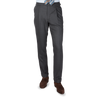 Baltzar 1906 Grey Super 100's Wool Pleated Suit Trousers Front