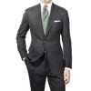 Baltzar 1906 Grey Super 100's Wool Suit Jacket Blazer Front