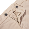 Mason's Beige Milano Washed Cotton Summer Chinos Chinos Zipper