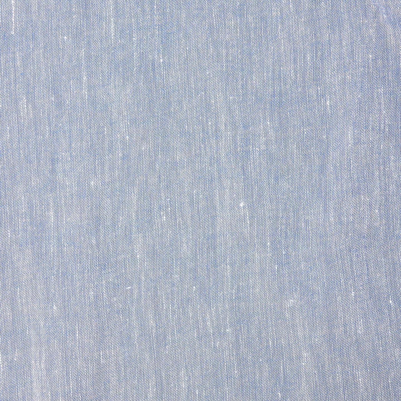 Altea Blue Linen Cotton Scarf Fabric
