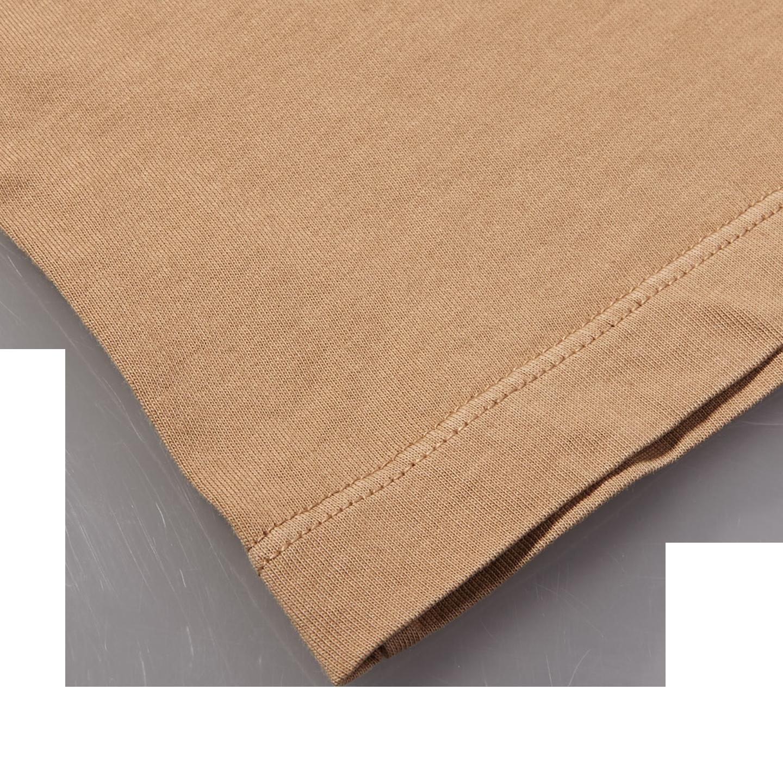 Altea Light Brown Washed Cotton T-Shirt Edge