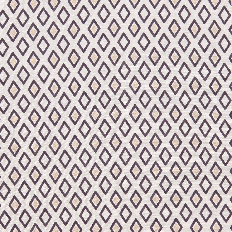 Altea Navy Diamond Print Cotton Silk Bandana Fabric
