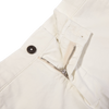 Berwich Berwich Off White Bermuda Cotton Shorts Zipper