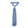 Drake's Royal Blue Unicorn Print Silk Tie Feature