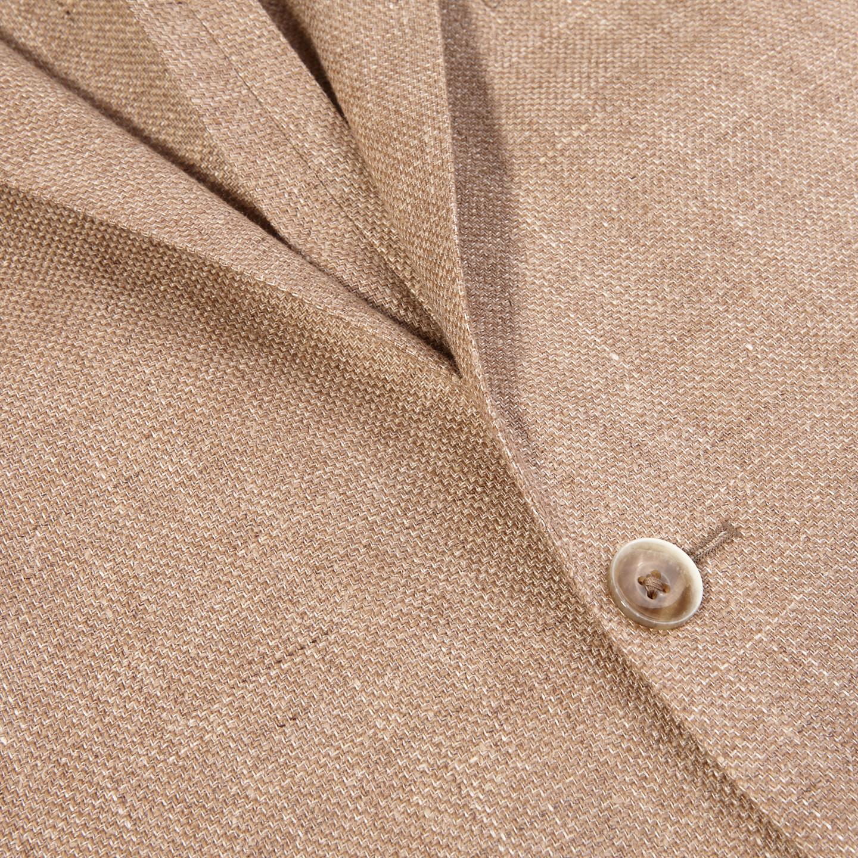 Eduard Dressler Beige Wool Silk Linen Sendrik Blazer Closed