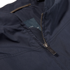 Eduard Dressler Navy Cotton Anthony Blouson Collar