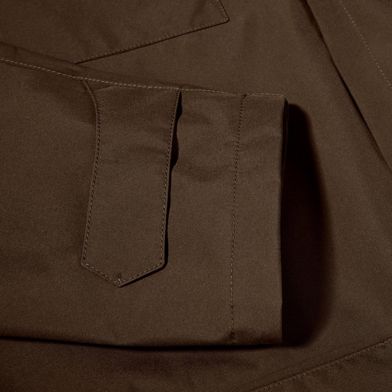 Herno Herno Brown Laminar Gore-tex Jacket Front Cuff