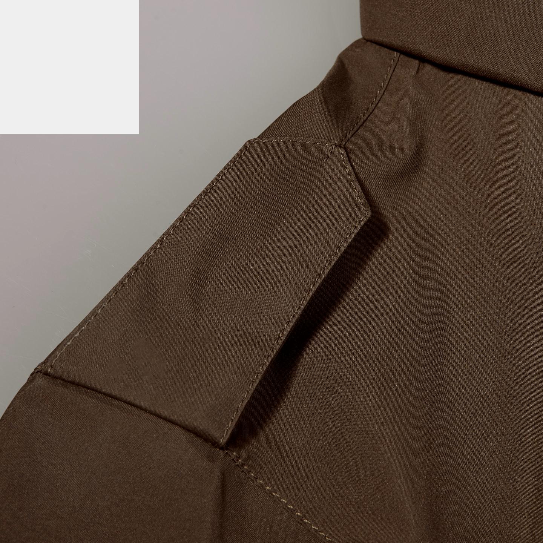 Herno Herno Brown Laminar Gore-tex Jacket Front Shoulder
