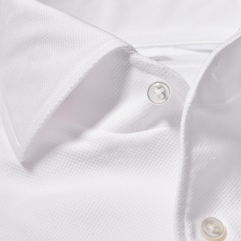 Stenströms White Cut Away Casual Slimline Shirt Collar