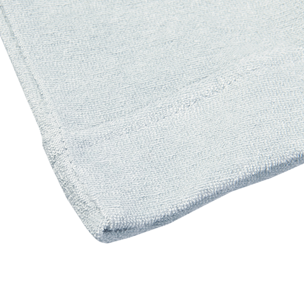 Sunspel Light Indigo Organic Cotton Toweling Polo Edge