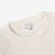 Sunspel Off White Rib Crew Neck Cotton Sweater Collar
