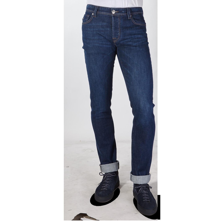 Tramarossa Denim Blue 6 Months Leonardo Comfort Jeans Front